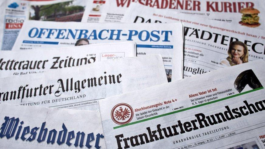 hessische Zeitungen