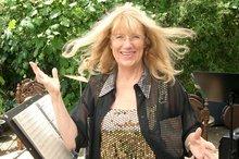 Portaitfoto mit wehenden Haaren