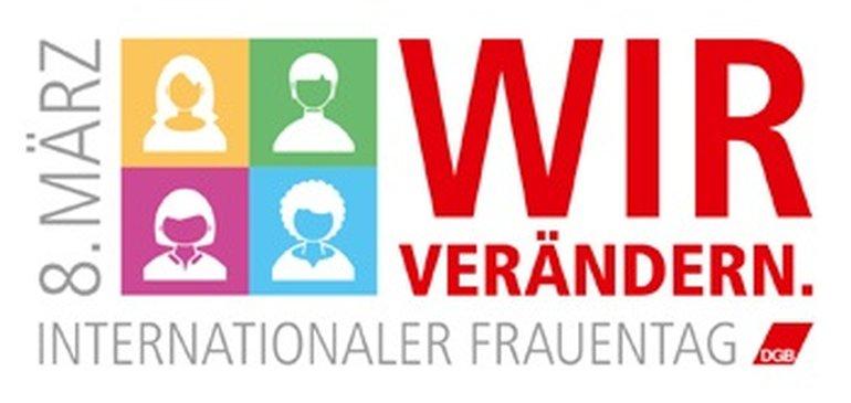 Logo Wortbildmarke Frauentag 2018