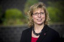 Die neue Bezirksvorsitzende Tanja Hauch im Porträit.