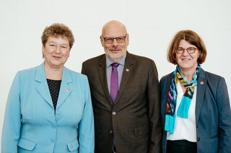 v.l.n.r.: Angelika kappe, Jürgen Bothner, Cornelia Kröll.