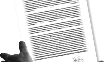 Knebelvertrag, der dem Vertragsnehmer die Hände bindet