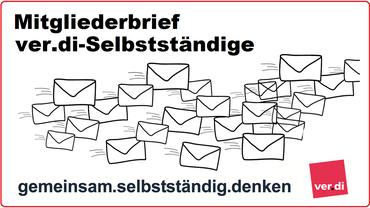 Mitgliederbrief der Selbständigen in ver.di