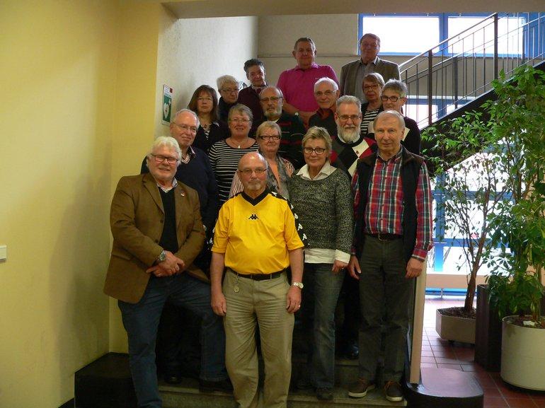 Gruppenfoto LandesseniorInnenausschuss 2015-2019