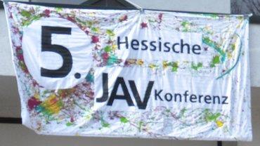 5. Jugendkonferenz ver.di Jugend Hessen, Banner