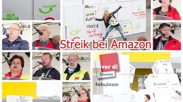 2-tägiger Streik bei Amazon, Bad Hersfeld