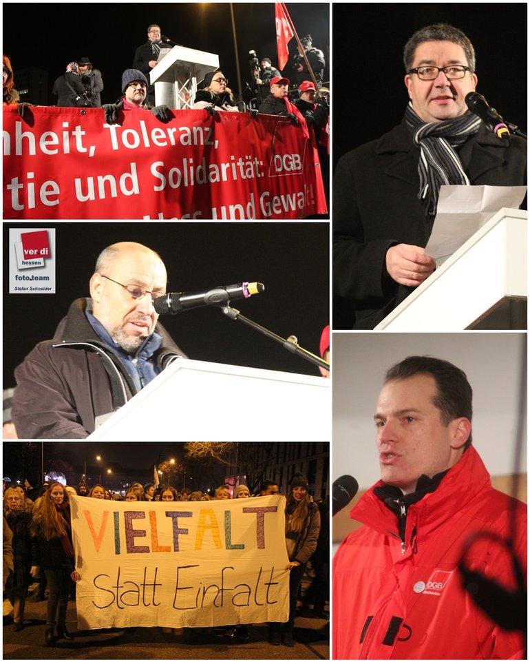No Pegida Wiesbaden