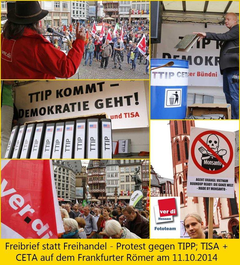 ie Tonne - Freihandelsabkommen stoppen