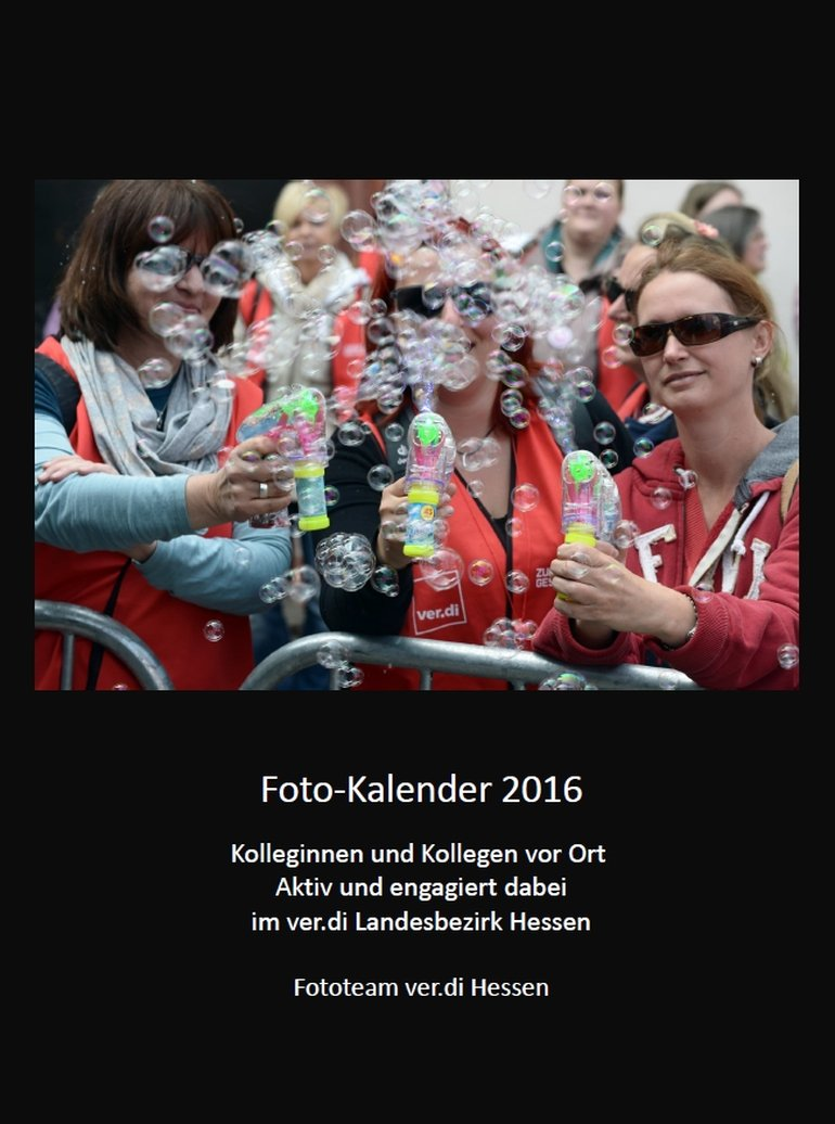 Fotokalender 2016, Fototeam